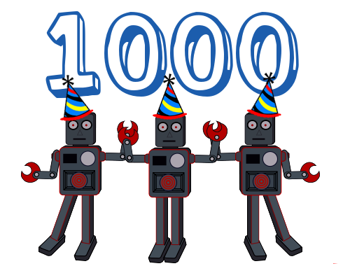 1000th T-Shirt Sold!
