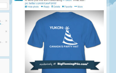 A tweet to the Yukon…